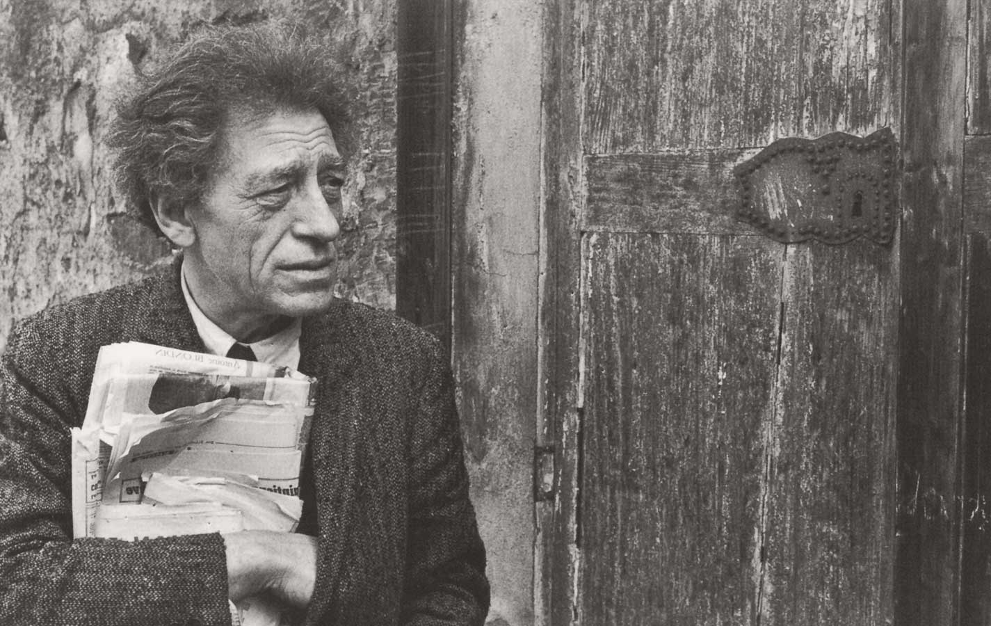 Alberto Giacometti among The Great Masters