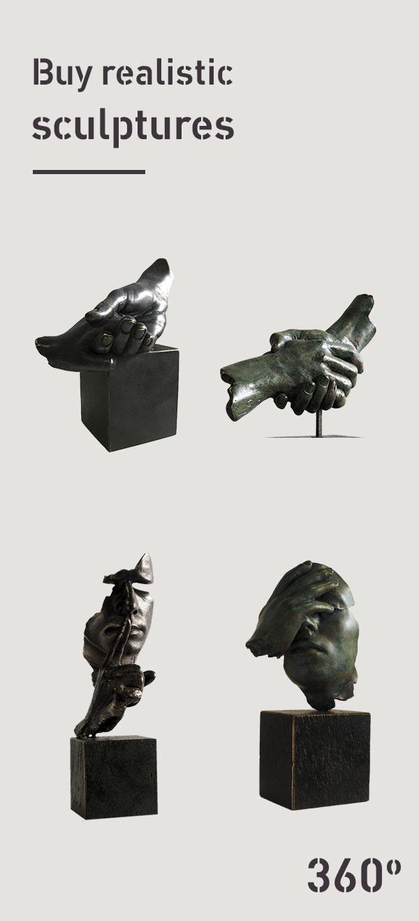 Buy-realistic-sculptures