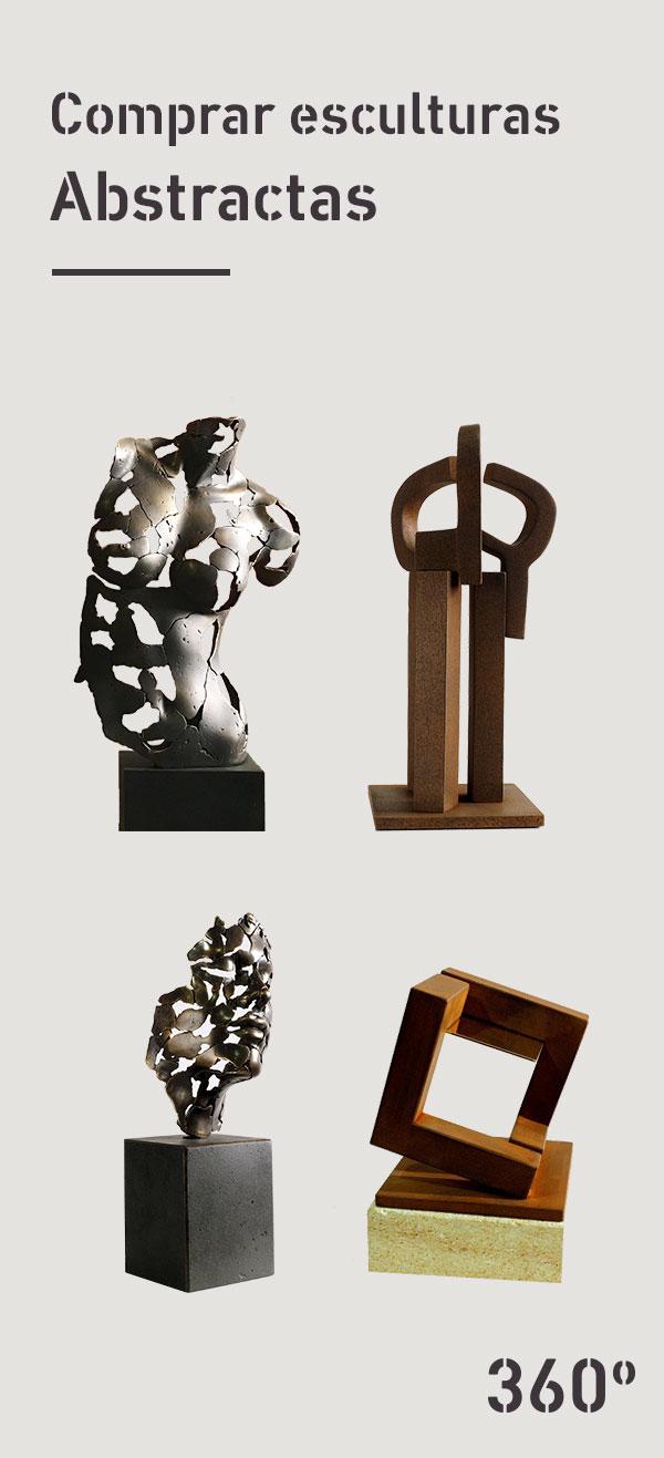 Comprar esculturas abstractas