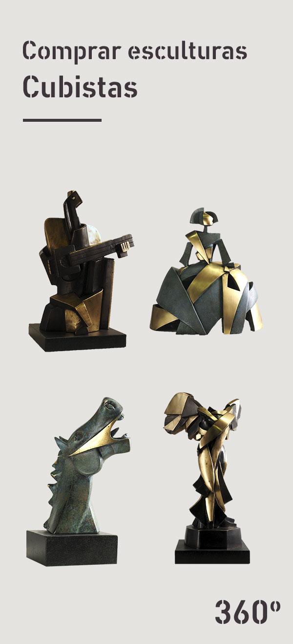 Comprar-esculturas-cubistas