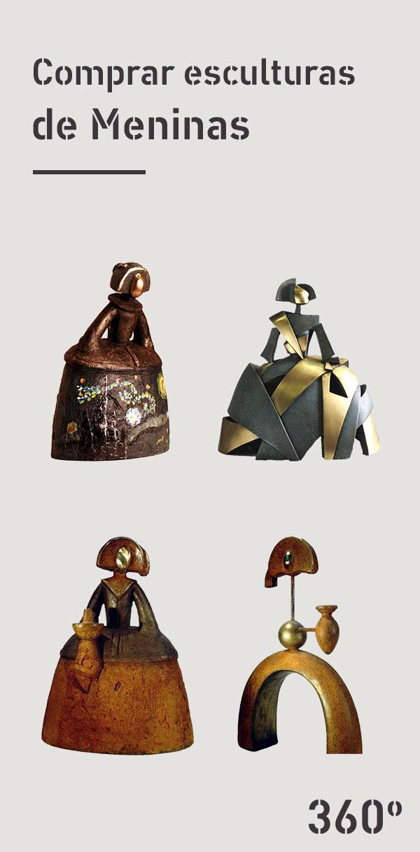 Comprar-esculturas-de-Meninas