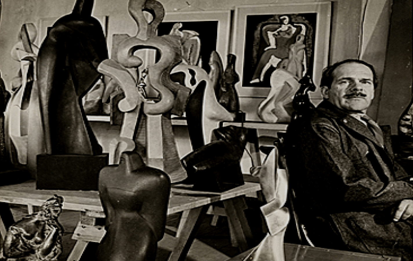 The sensual cubist artworks of Alexander Archipenko
