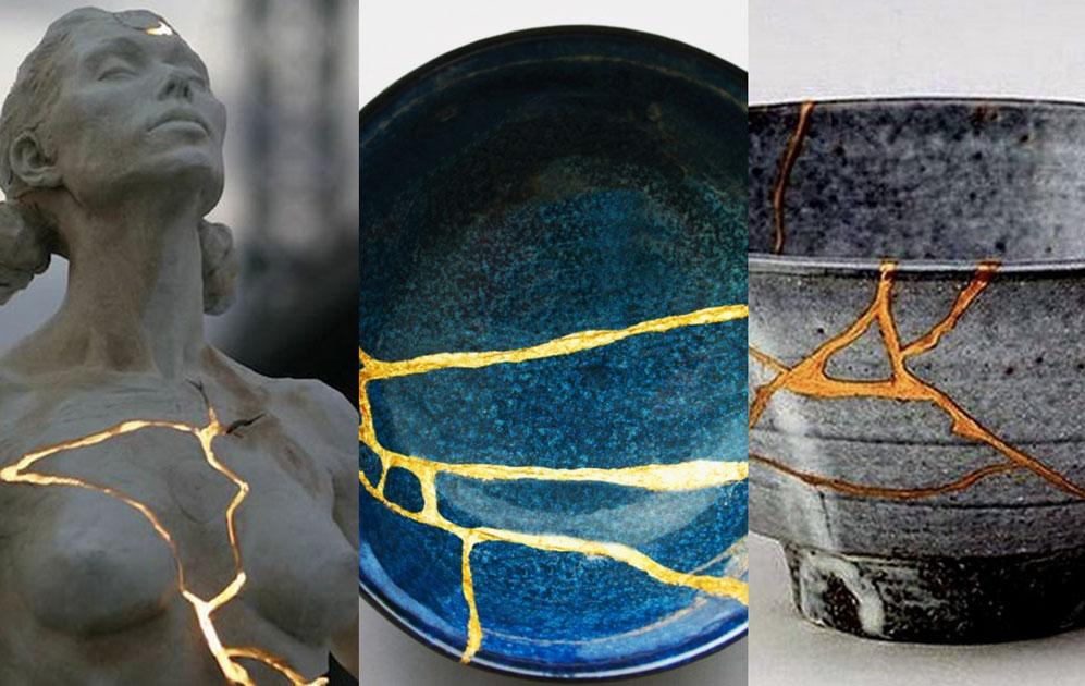 Kintsugi, arte japonés de obtener belleza a través de las roturas