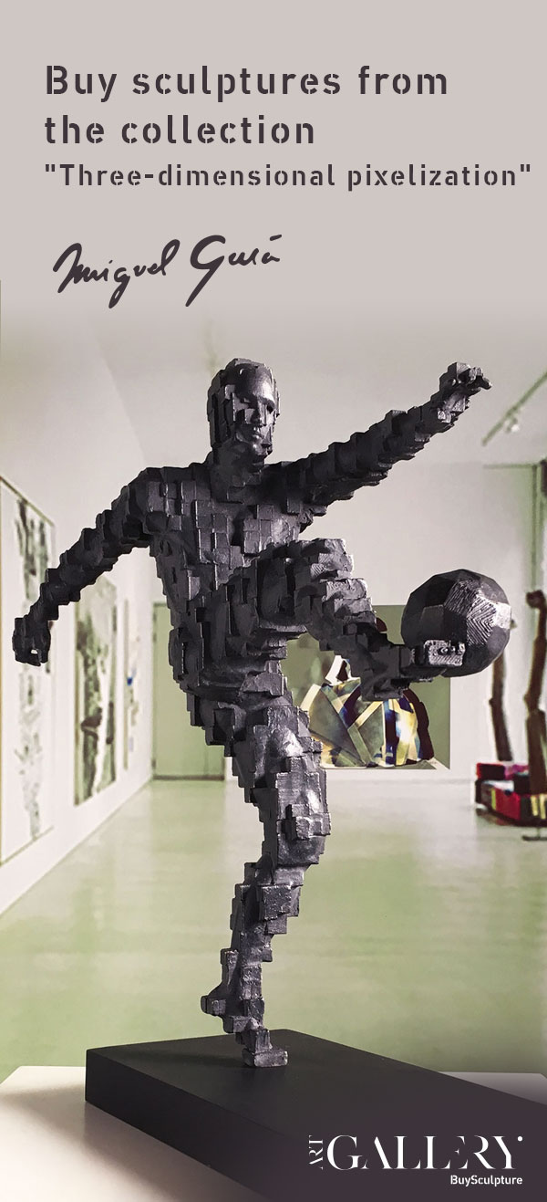 Buy sculptures from the collection-Three-dimensional pixelization