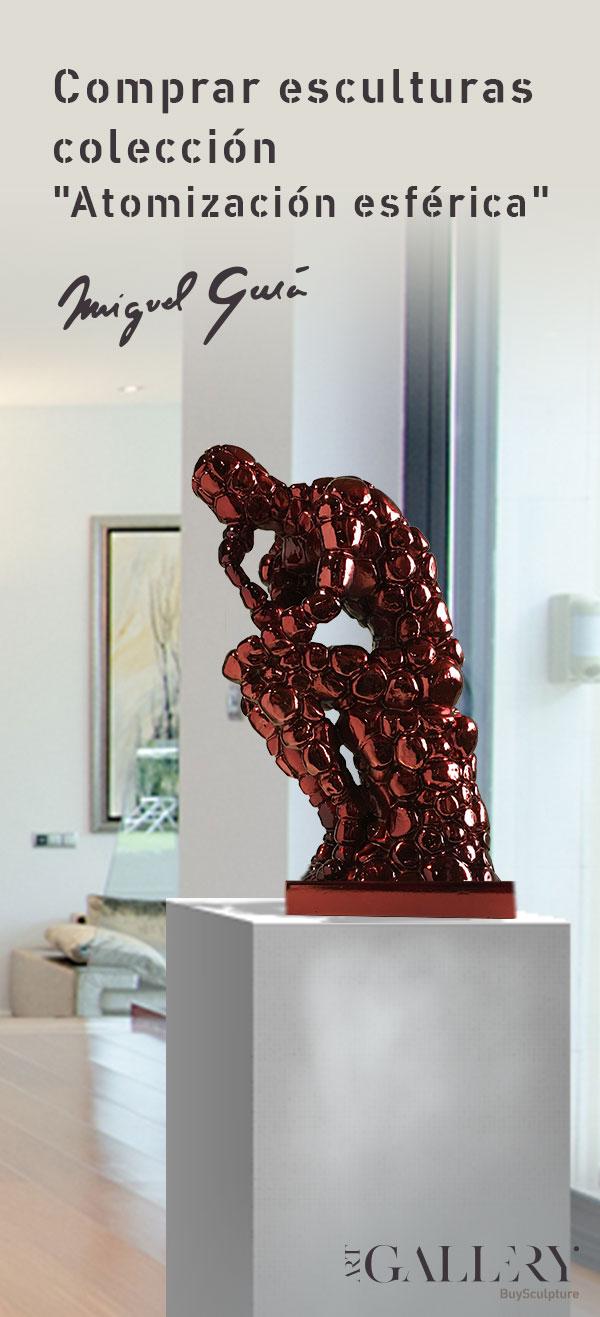 Comprar esculturas atomización esférica