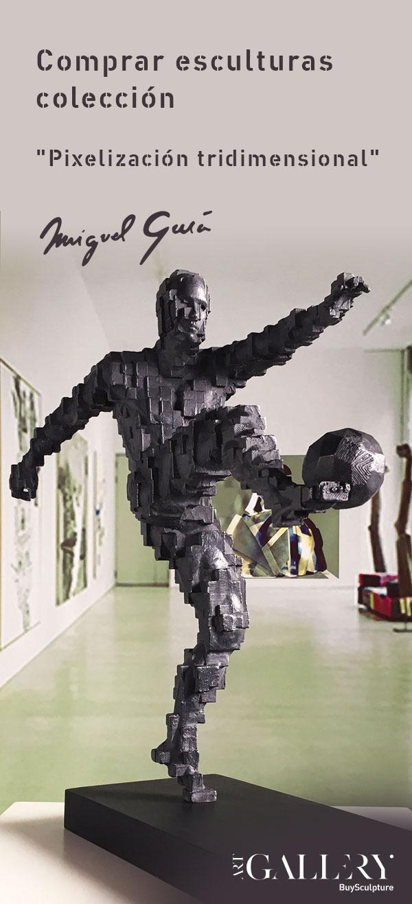 Comprar esculturas Pixelización tridimensional
