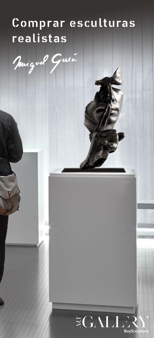 Comprar esculturas realistas Miguel Guía
