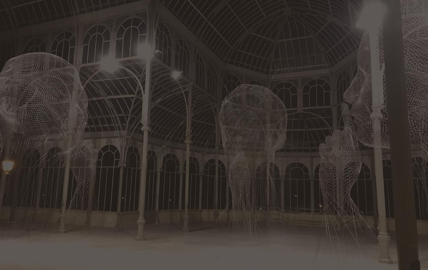 Jaume Plensa Art Exhibition Invisibles Retiro Palacio de Cristal