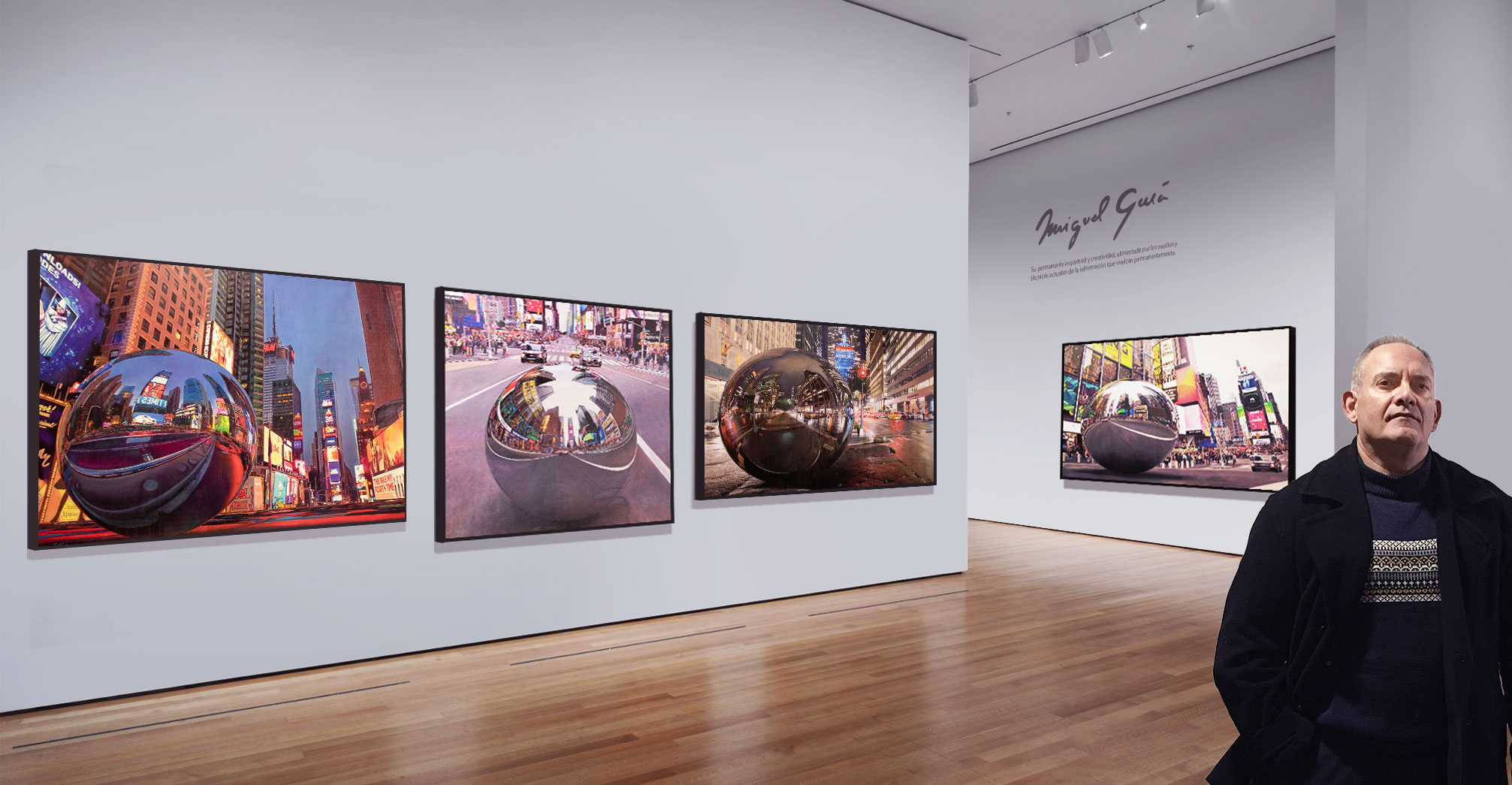 Exposición de pintura Colección «Panopticum» del artista Miguel Guía