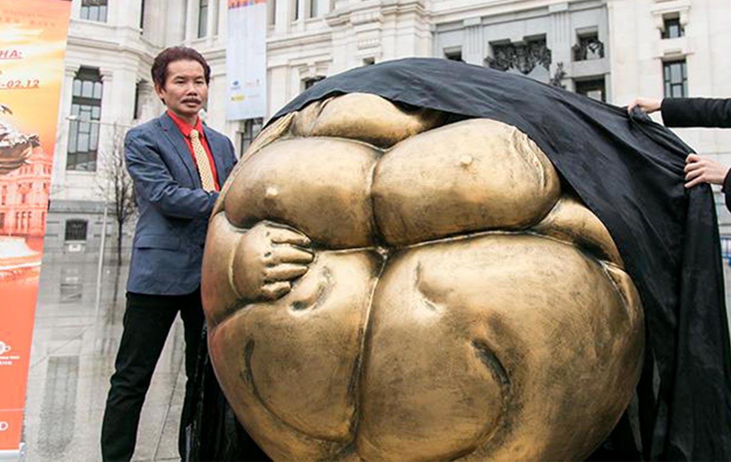 Xu Hongfei: Esculturas en Plaza Cibeles hasta el 12 de febrero