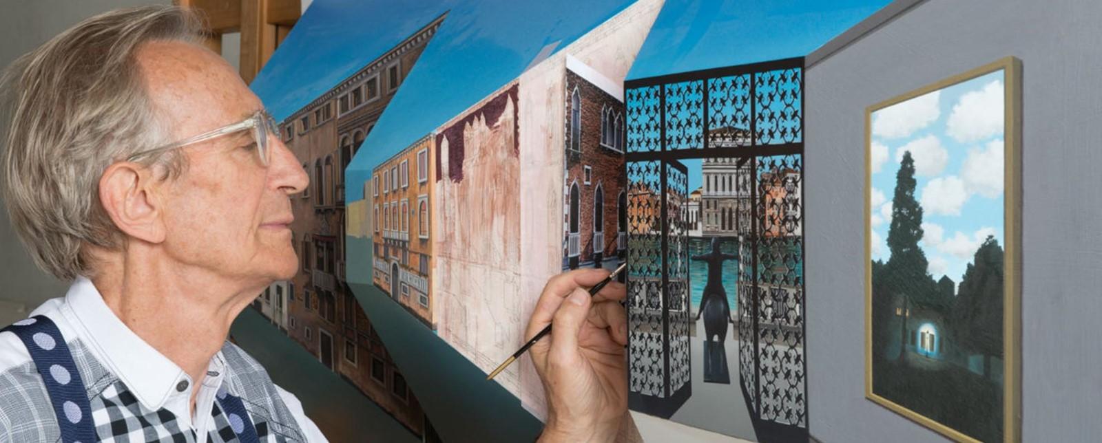 Patrick Hughes: Pinturas en 3D 😱