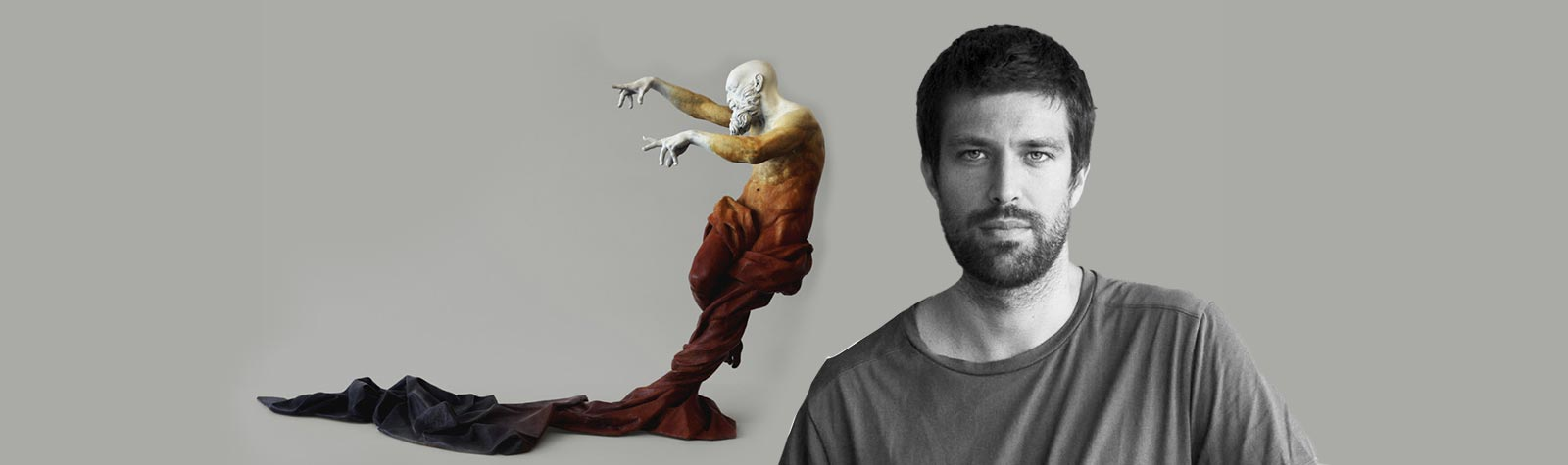 Cesar Orrico: esculturas con una gran fuerza expresiva