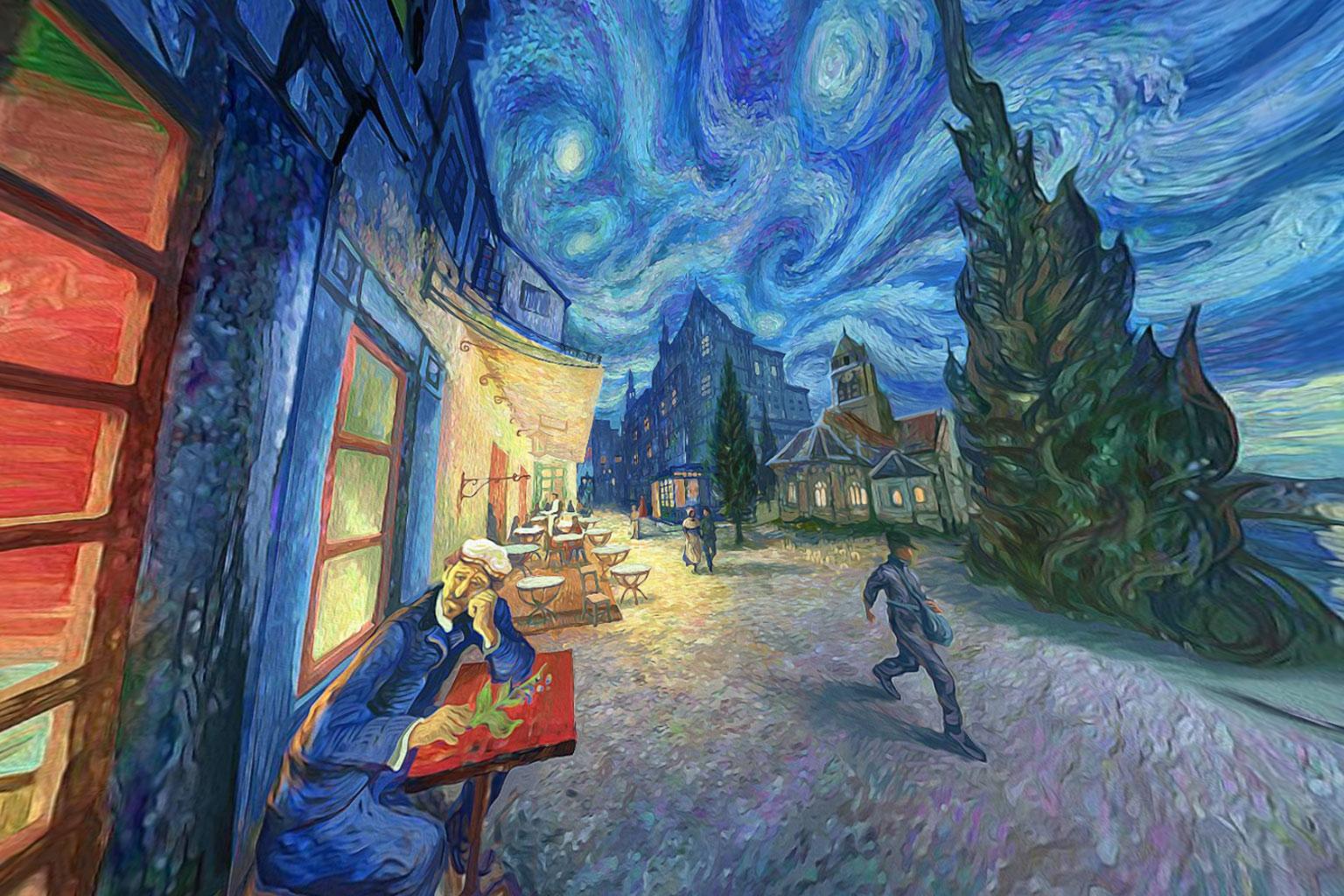 Cuadro de Vincent van Gogh en 360º